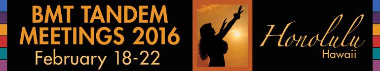 2016 BMT Tandem Meeting